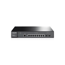 Гигабитный коммутатор 8-port TP-LINK TL-SG3210, 2xSFP expansion slot