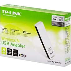 USB2.0 Wireless LAN Adapter  TP-LINK TL-WN821N, 300Mbps,2T2R, 802.11n/