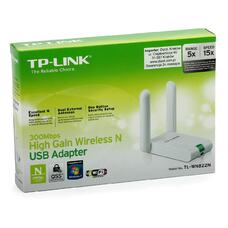 TP-LINK TL-WN822N, 300Mbps High Gain Wireless N USB Adapter, Atheros,