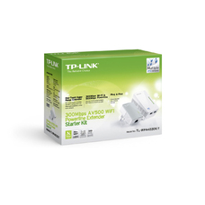 TP-Link TL-WPA4220KIT, 300Mbps Wireless Powerline Extender