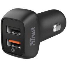 USB Car Charger - Trust Ultra-Fast (18W)