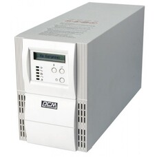 UPS PowerCom VGD-3000A On-Line, LCD, RS-232,Lan protection, SNMP Slot,