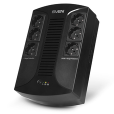 UPS SVEN UP-L1000E, 510W, Line Interactive, 6 euro sockets