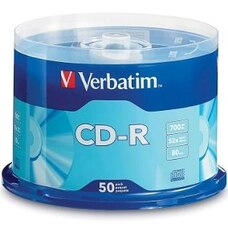 CD-R 50*Spindle, Verbatim, 700MB, 52x, Extra protection, 98005