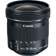 Zoom Lenses Canon EF-S 10-18mm f/4.5–5.6 IS STM